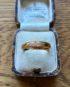 Elegant 22 carat Band Ring dated 1922
