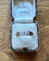 Diamond Band Ring hallmarked Glasgow 1918